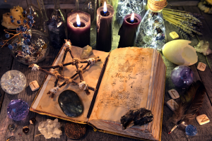 burvestību grāmata